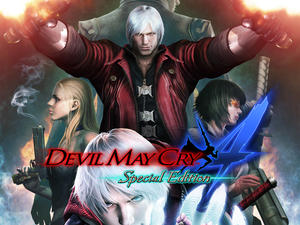 Devil May Cry 4: Special Edition adds three playable characters in its first trailer