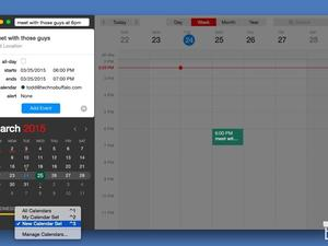 Fantastical 2 for OS X Yosemite is here, and it's awesome