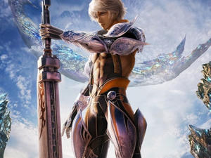 13 seconds of Mevius Final Fantasy's touch screen battle system