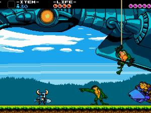Battletoads join Shovel Knight in the Xbox One version