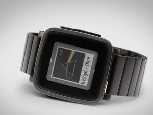 Pebble Time Steel shipments start this month