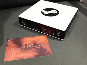 Zotac shows us its custom steam machine