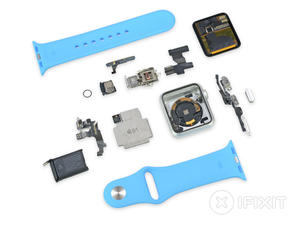 Apple Watch teardown reveals Taptic Engine, tiny battery, mysterious port