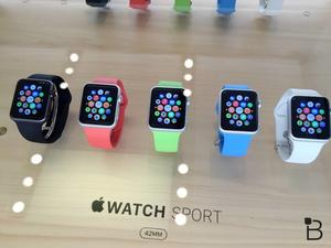 These images reveal the secrets behind Apple Watch retail displays