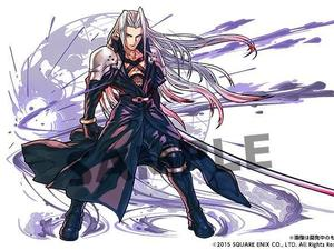 Puzzle & Dragon's rendered your favorite Final Fantasy villains