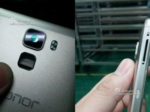 Huawei Honor 7 Plus leaks with all-metal design and a fingerprint scanner