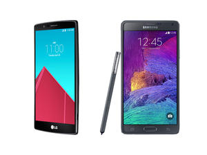 LG G4 vs. Galaxy Note 4 spec shootout