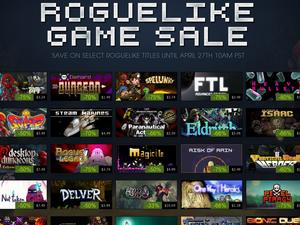 Steam offering great sale on a huge pile of roguelikes