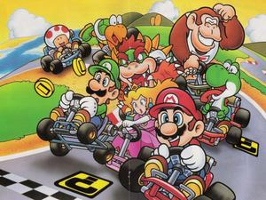 Mario Kart 8's new 200cc compared to now insanely pedestrian 150cc