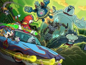 Yo-Kai Watch Busters announced, obvious Ghostbusters homages included