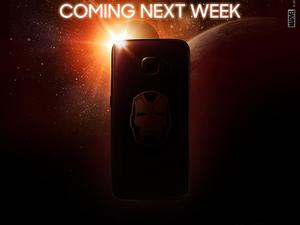 Galaxy S6 Edge Iron Man edition goes on sale next week