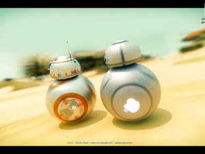 Awesome iDroid concept imagines a Jony Ive-designed BB-8