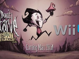 Don't Starve: Giant Edition hitting Wii U next week