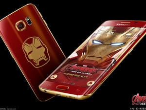 Limited edition Iron Man Galaxy S6 Edge is official