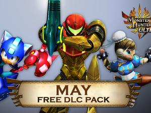 Monster Hunter 4's free DLC next week includes Mega Man, Metroid and Taiko goodness
