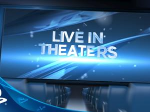 PlayStation Experience 2015 live in movie theaters during E3