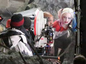 Suicide Squad: New Harley Quinn and Killer Croc pictures surface