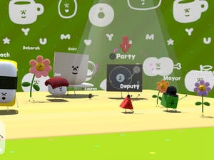 Wattam is a PS4 game about holding hands from Katamari Damacy creator