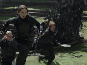 Mockingjay takes top box office spot for a third weekend