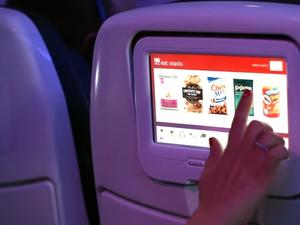 Virgin America unveils awesome Android-powered in-flight entertainment