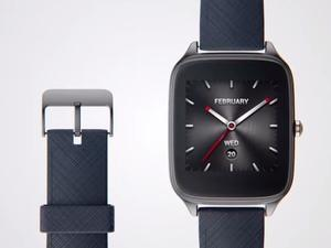 ASUS ZenWatch 2 unveiled with slim design and faster charging