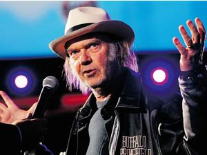 "Neil Young yanks his music from streaming services over ""quality"" concerns"