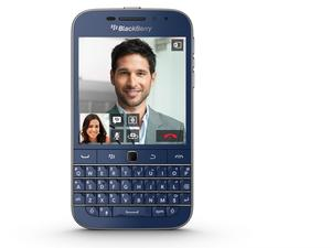 BlackBerry Classic launches in limited edition cobalt blue