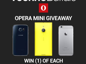 Win one of three phones from TechnoBuffalo and Opera!