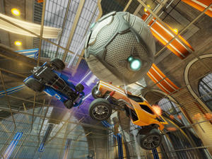 Xbox One players: Rocket League and multiplayer are free this weekend
