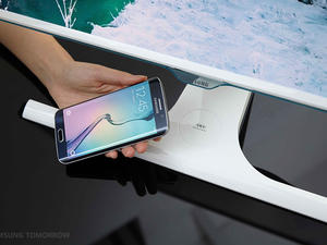 New Samsung monitor has built-in wireless phone charging