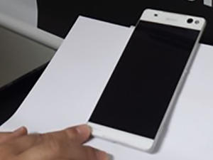 Xperia C5 Ultra leaked photo confirms super-thin bezels