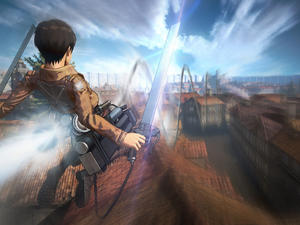 Attack on Titan TGS 2015 trailer and gameplay - It's raining limbs!