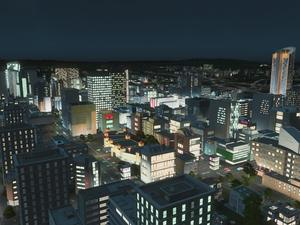 Cities: Skylines night time expansion, After Dark, coming in September