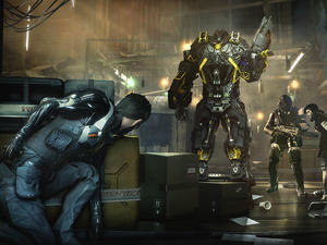 Deus Ex: Mankind Divided's demo looks like not much has changed