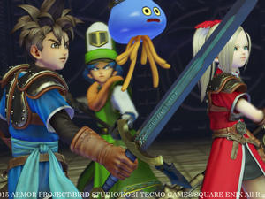 Dragon Quest Heroes launches today! Get ready to show the love!