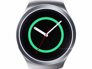 See Samsung's circular Gear S2 smartwatch in action