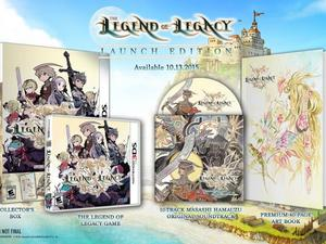 The Legend of Legacy dated for October 13 in North America