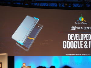 Project Tango phone from Google and Intel unveiled
