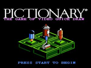 Hold up, why is the music for Pictionary on the NES so good!?