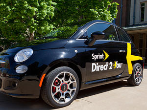 Sprint's phone delivery program expands to new markets, gifts in tow
