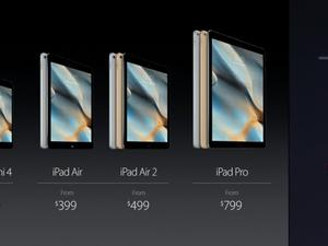 iPad mini 4 announced