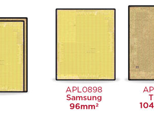 Apple's new A9 chips are different sizes depending on manufacturer