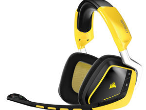 Corsair VOID Yellowjacket headset review: Set apart by standout design