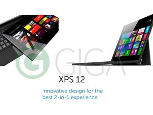 Dell's Surface-like XPS 12 tablet leaks out early
