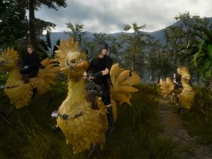 Final Fantasy XV info dump - No custom soundtracks in car, Chocobo and character traits