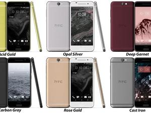 HTC One A9 breaks cover in six different colors