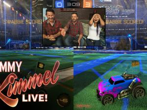 Jimmy Kimmel sits down and plays games with YouTubers