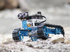 Learn to code by building a robotic tank with the Makeblock Arduino Starter Robot Kit - 46% off