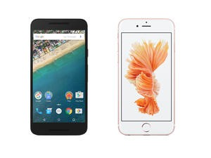 Nexus 5X vs iPhone 6s spec shootout