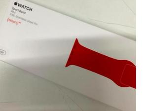 Product Red Apple Watch Sport band looks prepped for launch